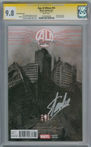 Age Of Ultron #10 Kim Retail Variant CGC 9.8 Signature Series Signed Stan Lee Marvel comic book